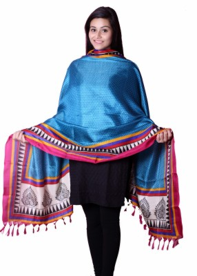Inara Robes Tussar Silk Printed Women's Dupatta