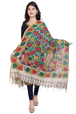 Ecostyle Chanderi Printed Women's Dupatta