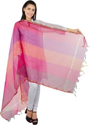 Craftghar Chanderi Self Design Women's Dupatta