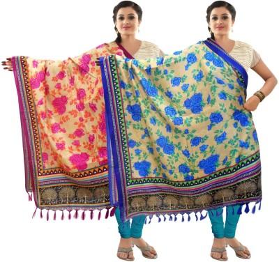 Sangam Kolkata Art Silk Printed Women's Dupatta