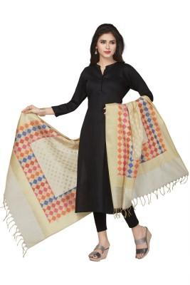 Rani Saahiba Art Silk Woven Women's Dupatta at flipkart