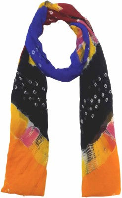eFashionindia Synthetic Chiffon Self Design Women's Dupatta