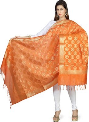 Rani Saahiba Art Silk Printed Women's Dupatta at flipkart
