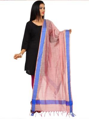 Kataan Bazaar Tussar Silk Woven Women's Dupatta at flipkart