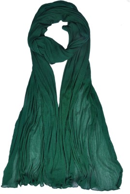 V Brown Kids Dupatta(Dark Green)