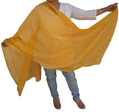 MKB Cotton Self Design Women's Dupatta