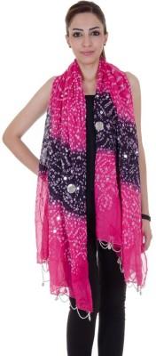 Home Shop Gift Cotton Self Design Women's Dupatta