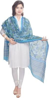 Kalrav Chanderi Printed Women's Dupatta