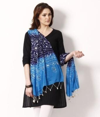 OnaS Cotton Self Design Womens Dupatta