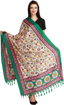 Aksara Art Silk Floral Print Women,s Dupatta