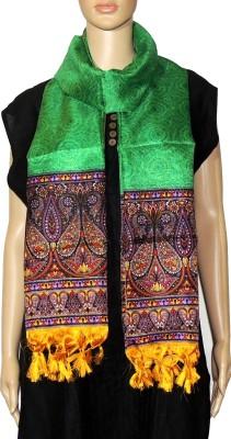 Indian Fashion Guru Raw Silk Printed Women,s Dupatta