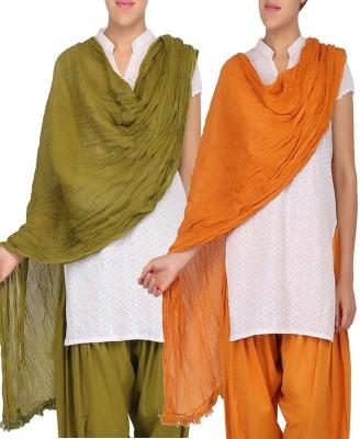 Womens Cottage Cotton Solid Women's Dupatta