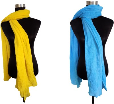 Shiborika Cotton Solid Women's Dupatta