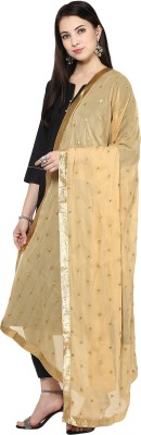 DUPATTA BAZAAR Faux Chiffon Embellished Women's Dupatta