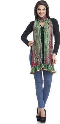 Aapno Rajasthan Raw Silk Self Design Women's Dupatta