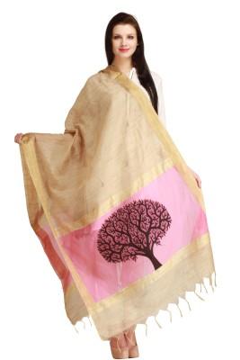 Aksara Chanderi Self Design Women,s Dupatta