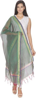 Loom Legacy Silk Cotton Blend Printed Women's Dupatta at flipkart