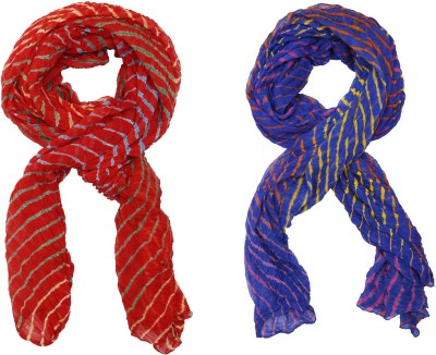 SAANKHYA Pure Chiffon Striped Women's Dupatta