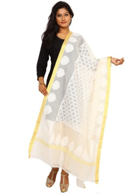 Kataan Bazaar Net Woven Women's Dupatta