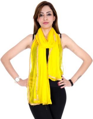 Home Shop Gift Shimmer Solid Women's Dupatta
