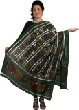 Nirguna Cotton Embroidered Women's Dupat...