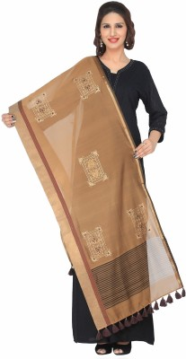 Nikayi Silk Cotton Blend Embroidered Women's Dupatta