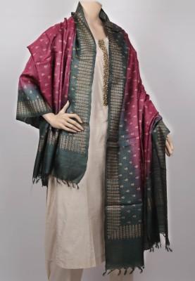 KalaSangam Tussar Silk Printed Women's Dupatta