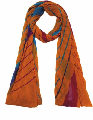 eFashionindia Synthetic Chiffon Striped Women's Dupatta