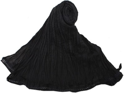 V Brown Kids Dupatta(Black)