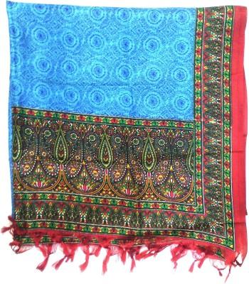 Malhotra & Sons Silk Cotton Blend Graphic Print Women,s Dupatta