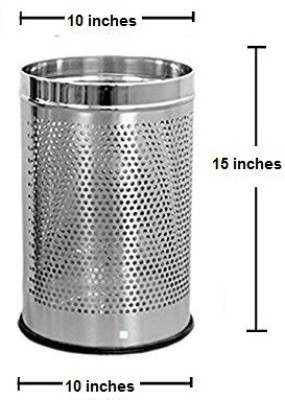 saanvi creations Stainless Steel Dustbin