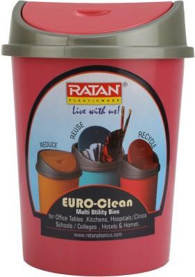 Ratan Plastics Mini Table Bin Polypropylene Dustbin