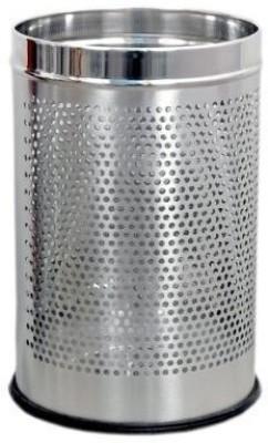 Bharat Stainless Steel Dustbin(Steel)