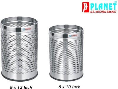Planet Stainless Steel Dustbin