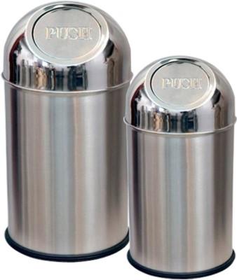 SSSilverware Stainless Steel Dustbin