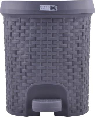 POLYSET RATTAN SERIES Plastic Dustbin