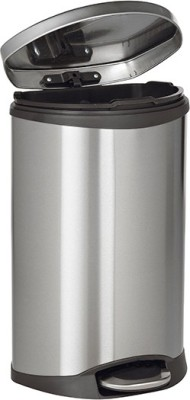 Howards Eko Soft Close Pedal Bin 10l Stainless Steel Dustbin