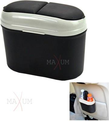 Maxum Car Dustbin Plastic Dustbin