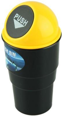 DIZIONARIO Car Mini Glass Size Garbage Can TrasH Plastic Dustbin