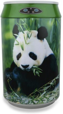 Room Groom Panda Steel Dustbin