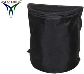 Kozdiko Polyester Dustbin(Black)