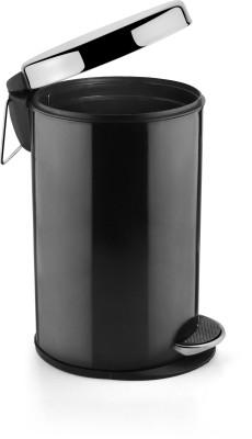 HMSTEELS Stainless Steel Dustbin(Black)
