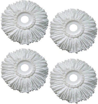 Infinxt Microfibre Easy Spin Mop Refill NA Duster(Pack of 4)