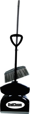 Uniclean Plastic Dustpan(Black)
