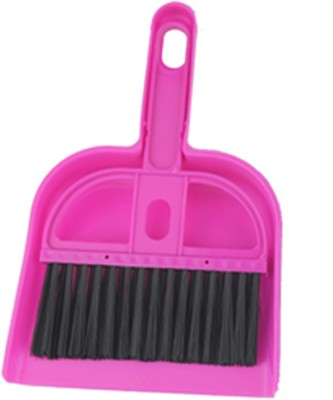 Ideal Home Plastic Dustpan(Pink)