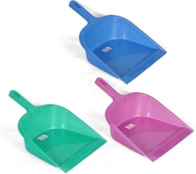 NAVKAR-CP Plastic Dustpan(Blue, Pink, Green)