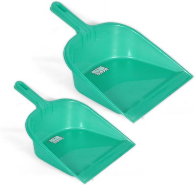 NAVKAR-CP Plastic Dustpan(Green)