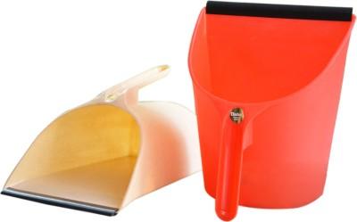 Chetan Plastic Dustpan(Multicolor)