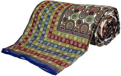 Little India Self Design Double Duvet Multicolor