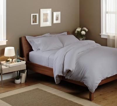 Elegant Bedware Cotton Plain Double Bedsheet
